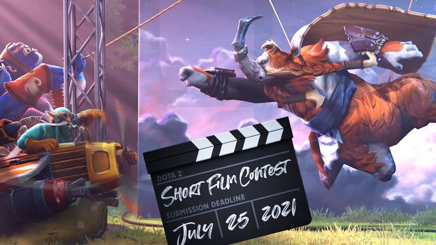 Valve announced Dota 2 Short Film Contest - Hawk